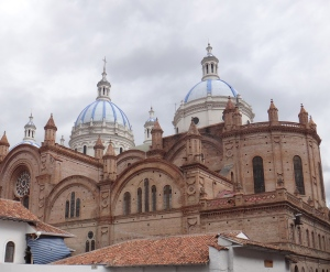 One of the many Cathedrals in Cuenca
