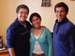 Marcia, Alejandro, and Andreas